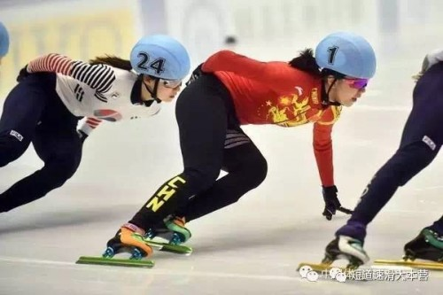 Chinese Skater Guo yi han on new 8005 blades
